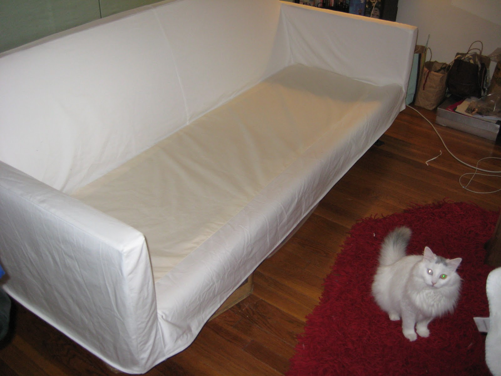 Years To Make A Slip Cover For Our Petrie Sofa From Crate And Barrel I