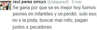 EL TWEET DESTACADO
