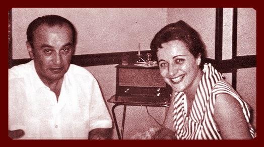 Milan sa suprugom