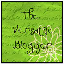 Versatile bloggger Award!