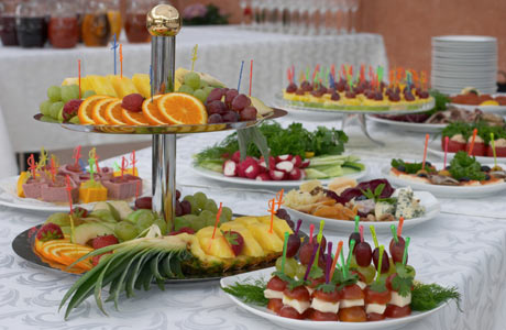 Weddingspies Summer Wedding Food