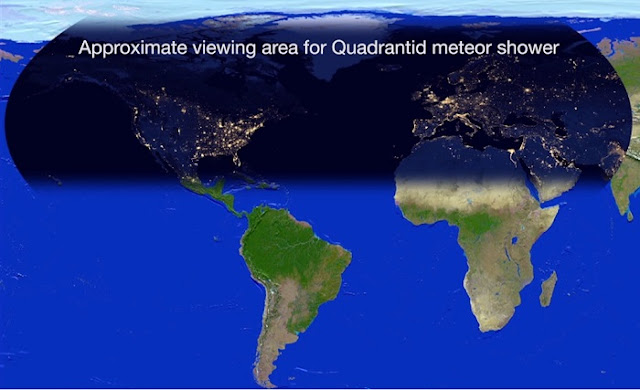 Meteors amp Meteorites  Quadrantids  Planets  NASA Solar