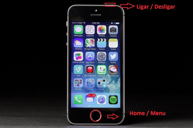 Hard Reset e o Soft Reset do iPhone 5S - Como fazer