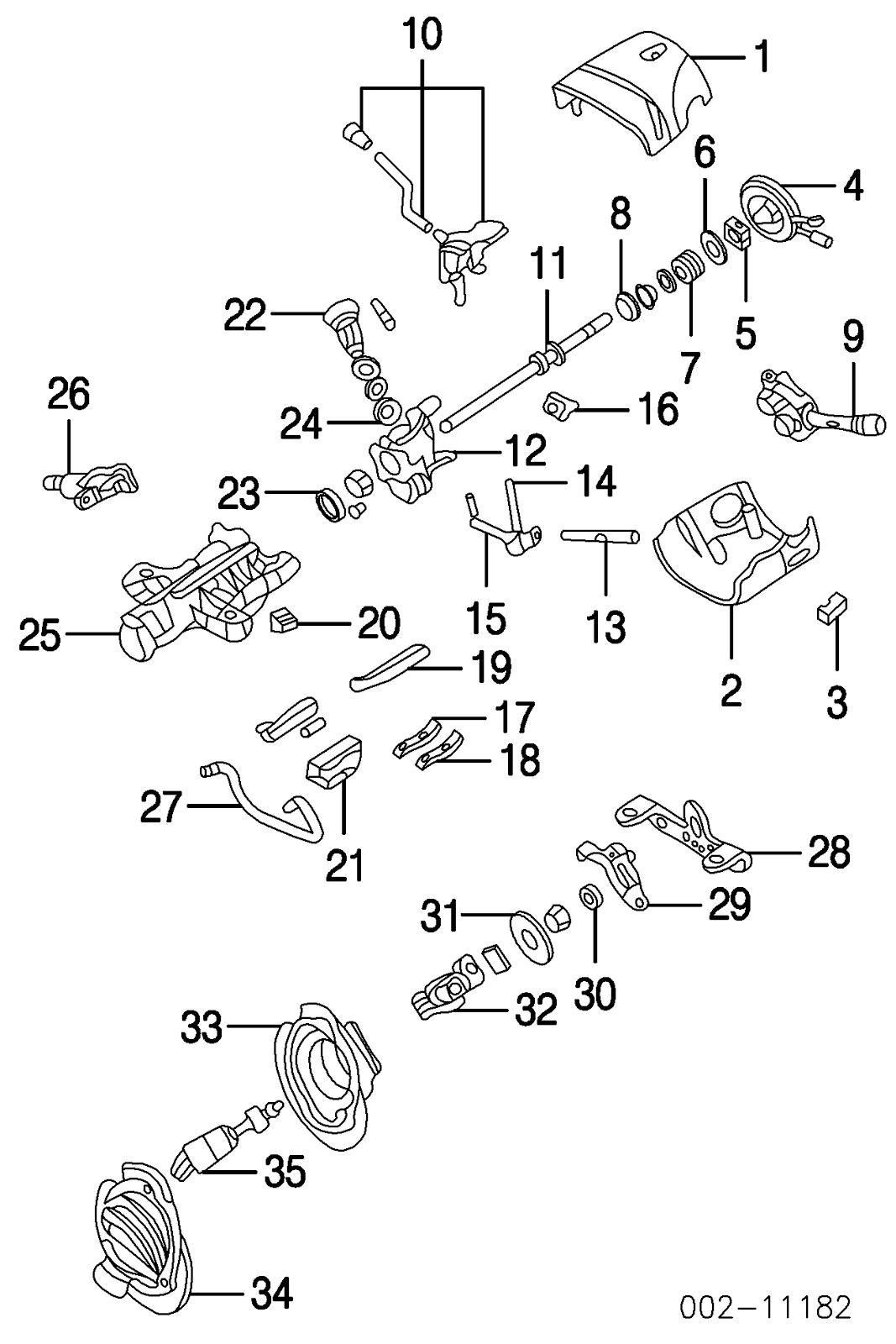 ford taurus  steering wheel  column