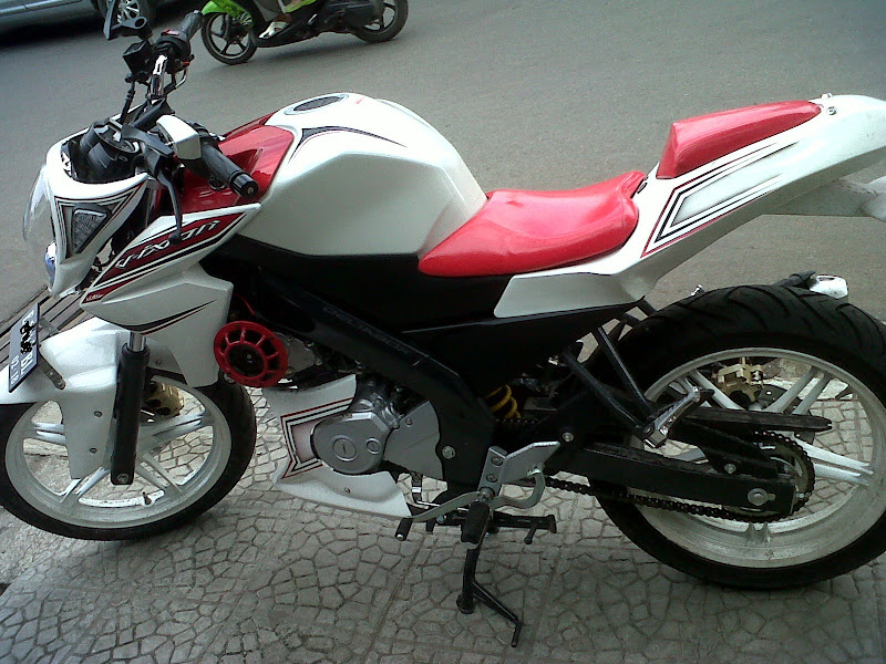 Foto Modifikasi New Yamaha Vixion 2013
