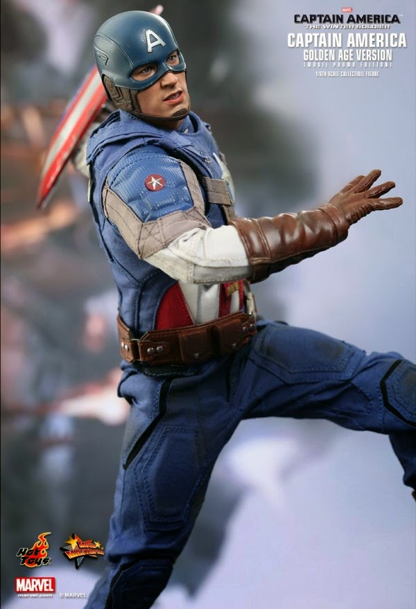 Action Figure Hot Toys Capitão América O Soldado Invernal