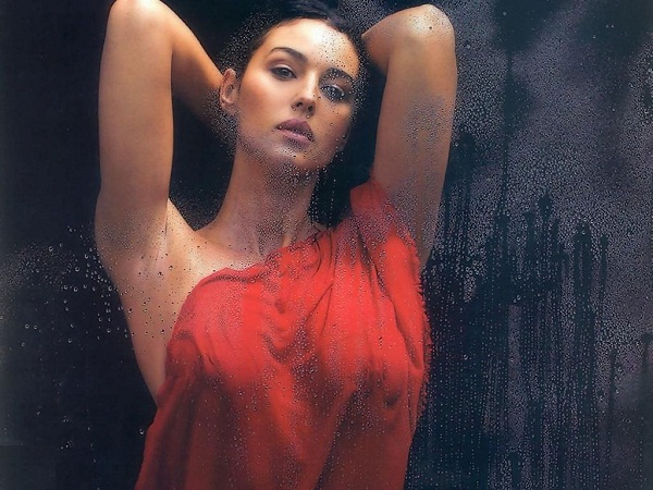 Monic Bellucci Bold Wallpaper