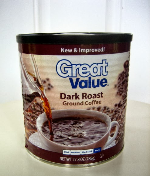 A normal coffee can can be useful even after it's empty