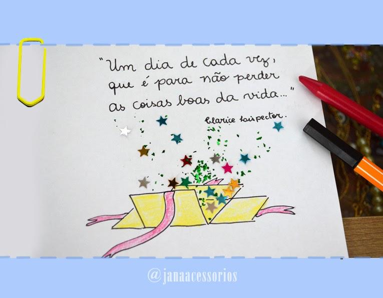 Jana E Seus Acessórios Frase Ilustrada