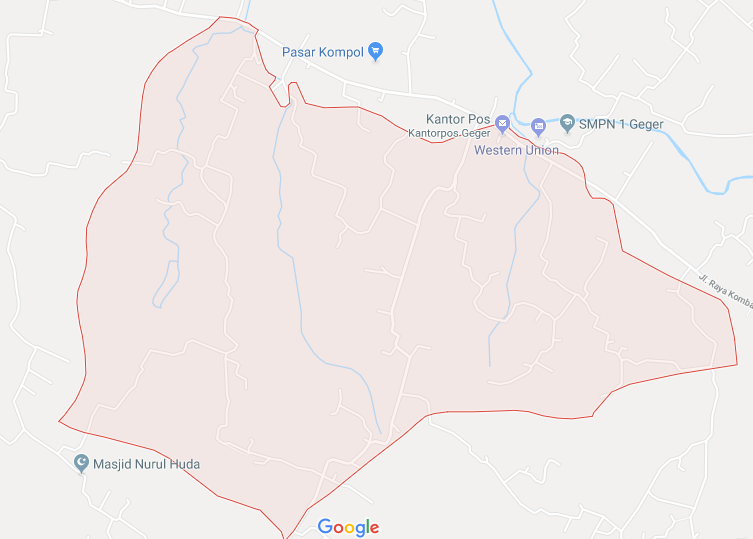 Lokasi Desa Campor