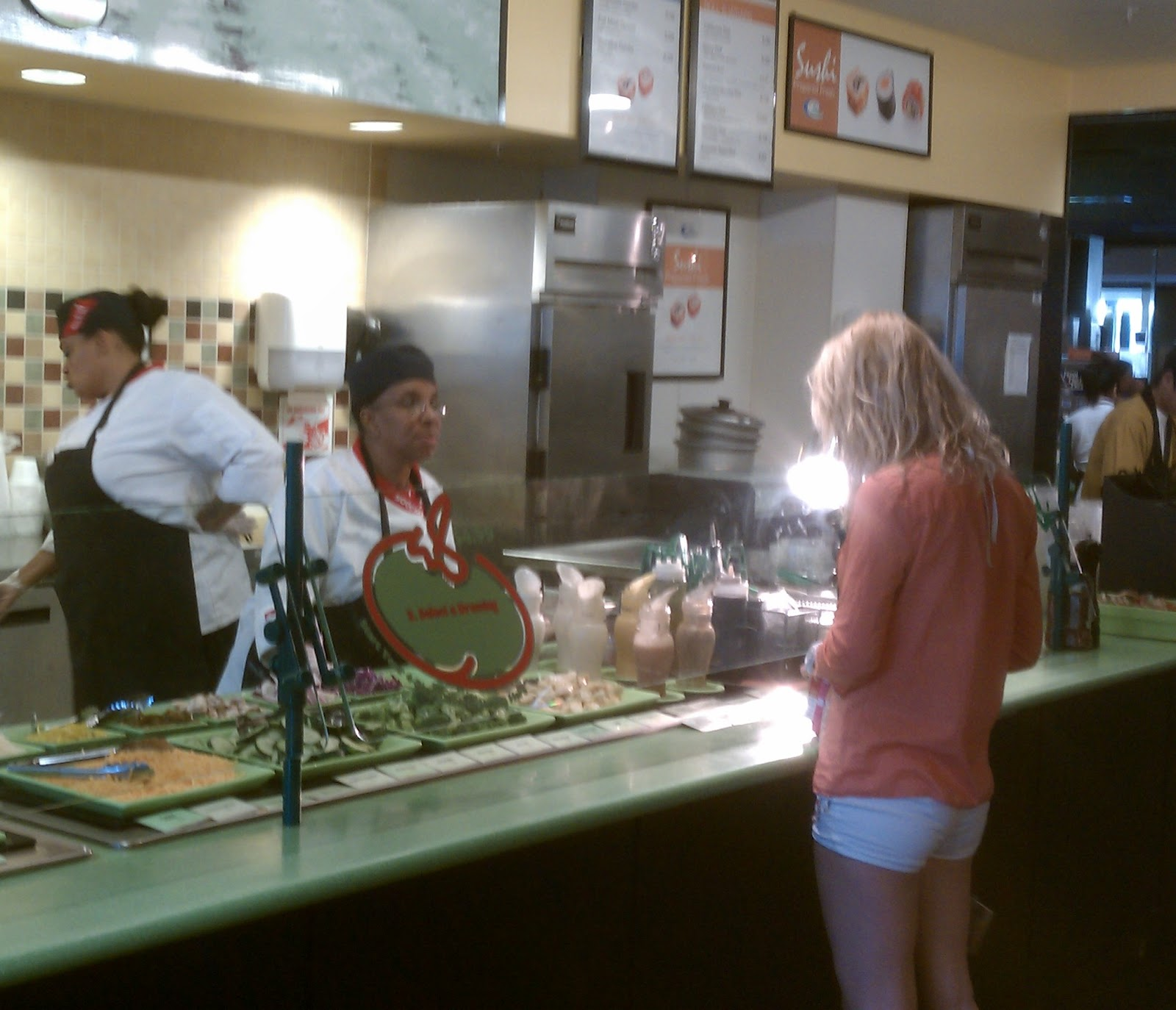 Now There Are A Number Of Places To Eat At The Lbc, Including Baja Fresh  (texmex), Byblos (greek), Panda Express (chinese), Quiznos (sandwiches),