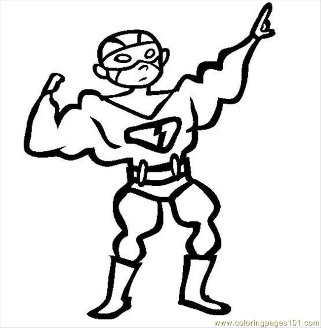 Superhero Coloring Printables