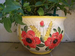 Ceramica che passione i vasi per le piante di maiolica - Vasi ceramica esterno ...