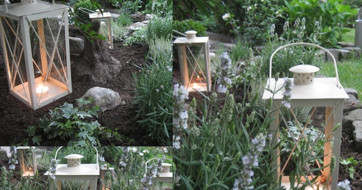 lille lykke: ein blick in unseren vorgarten, Garten und Bauen