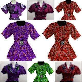 Model Baju Batik Untuk Kerja Modern 2014