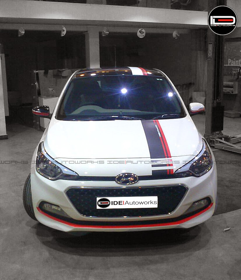 Hyundai I20 Elite W Racing Stripes
