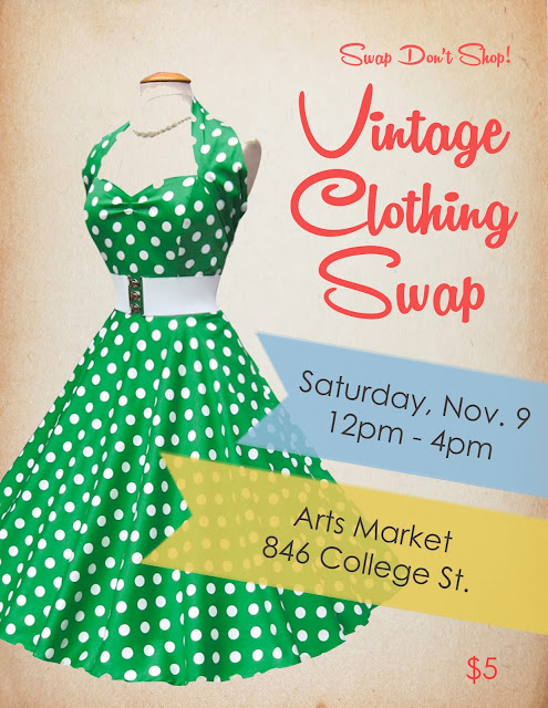vintage clothing swap