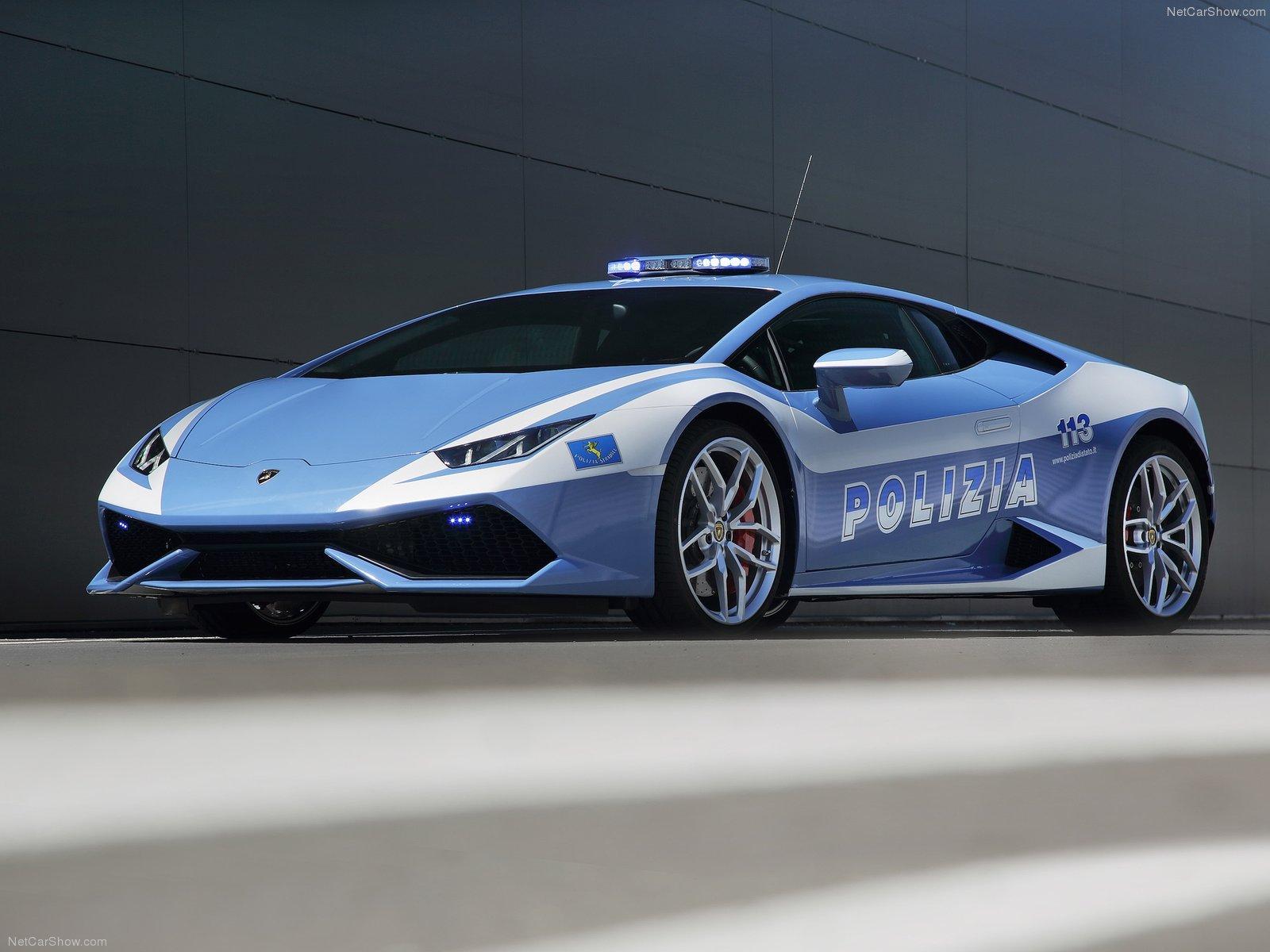 Hình ảnh siêu xe Lamborghini Huracan LP610-4 Polizia 2015 & nội ngoại thất