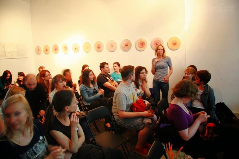 urodzinowe spotkanie Geek Girls Carrots Łódź, Kamila Sidor, publicznosc, ludzie na spotkaniu, widownia,