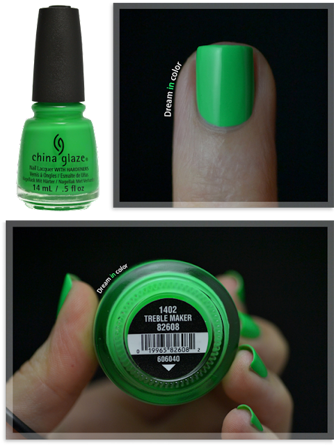 China Glaze Treble Maker