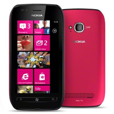Harga NOKIA Lumia 710 Black Fuchsia cariharga.blogspot