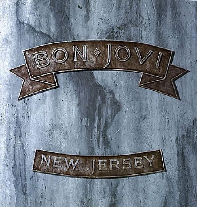 Portada de Bon Jovi-New Jersey