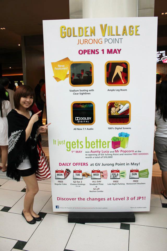 Golden Village Singapore - Cinemas - 1 Jurong West