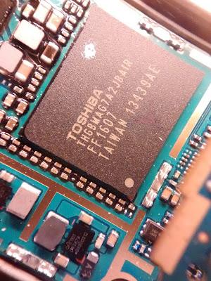 Toshiba LG G2 chip