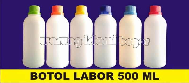 Jual Botol Plastik Kemasan HDPE 500ml