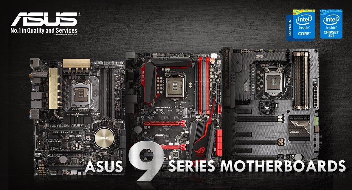 ASUS 9 Series Motherboards