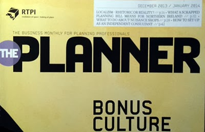 The shameful latest issue of The Planner