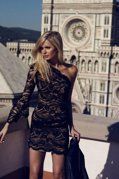 moda vestidos encaje