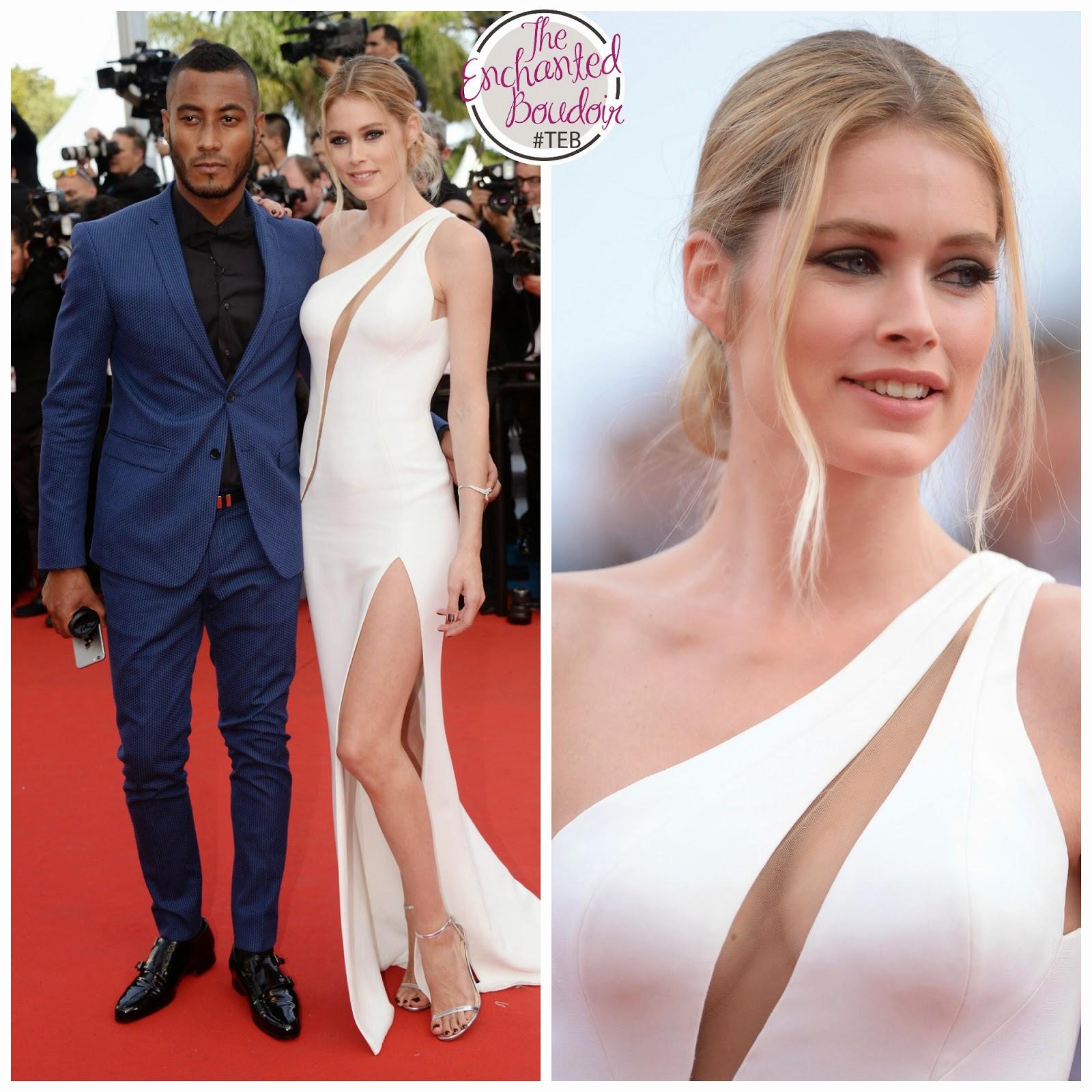 Models Cannes Festival Red Carpet