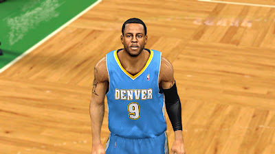 NBA 2K13 Best Andre Iguodala Face Update