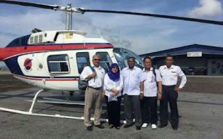 #PRNSarawak11: Helikopter Bawa VIP Hilang Dari Radar