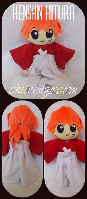 Kenshin Himura Plush Doll