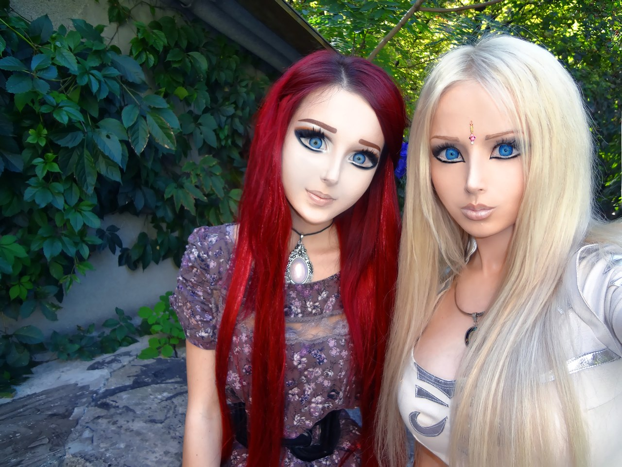 Anime and Barbie, living dolls.