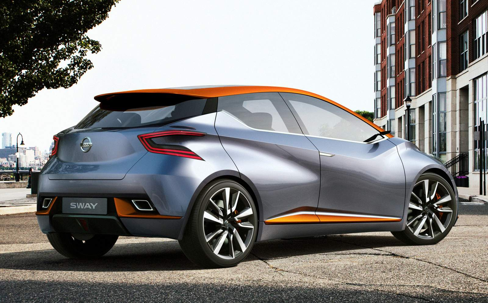 Nissan Sway - New March