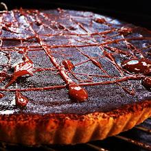 Molten chocolate tart