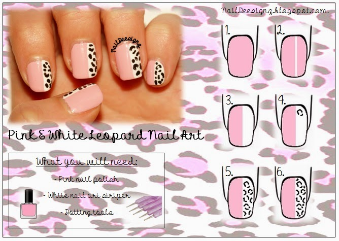 http://naildeesignz.blogspot.co.uk/2014/04/pink-white-leopard-print-nail-art.html