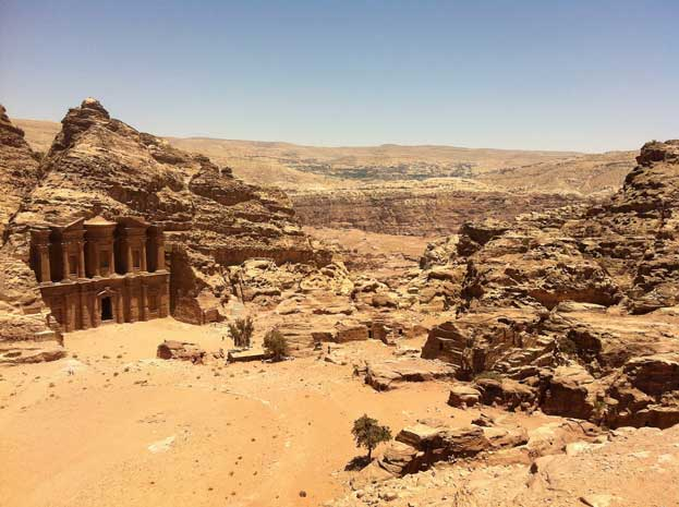 The Wonder of the world Petra Jordan