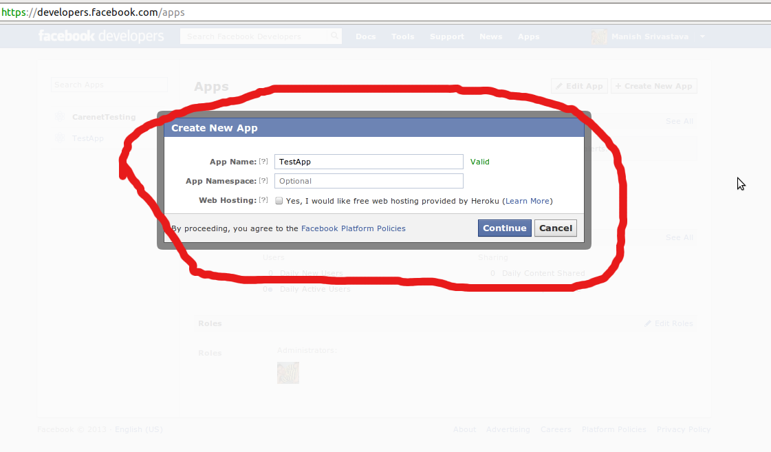 how to know facebook user id