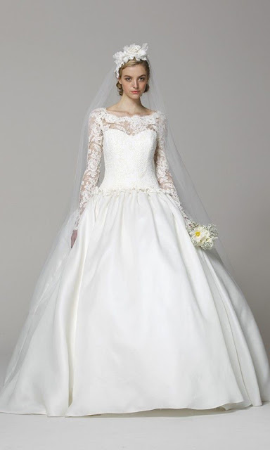 lace wedding dresses 2013 Marchesa