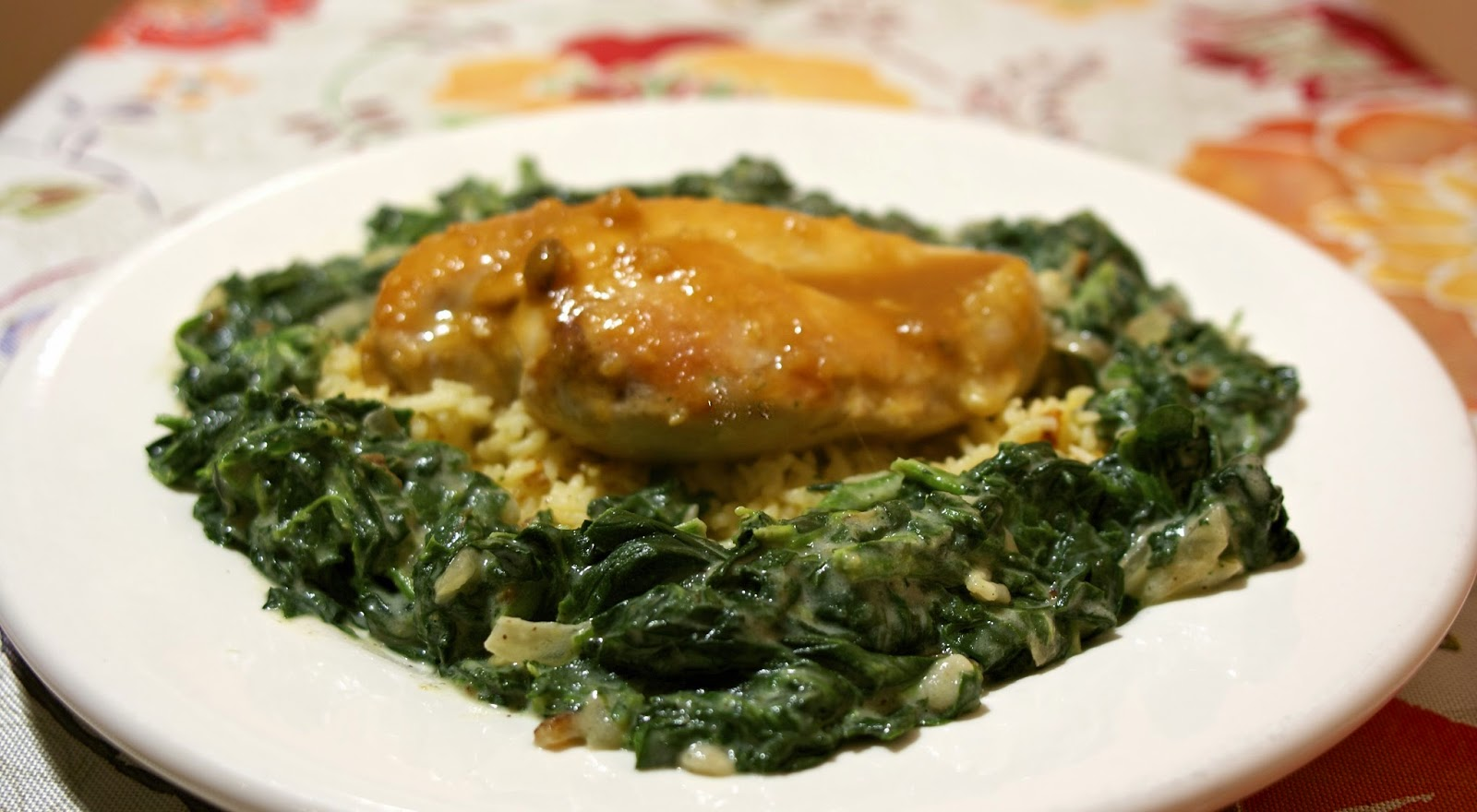 Chicken with PInapple Sauce- simplelivingeating.com