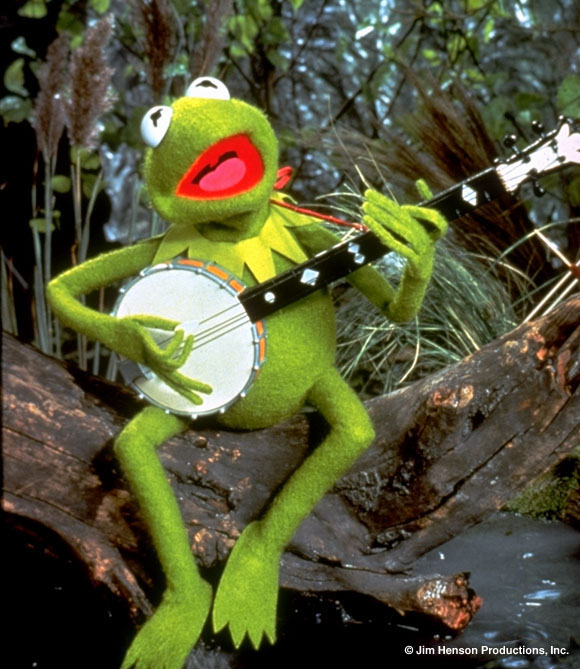play rainbow connection by kermit the frog
