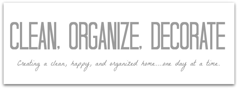 Clean, Organize, & Decorate