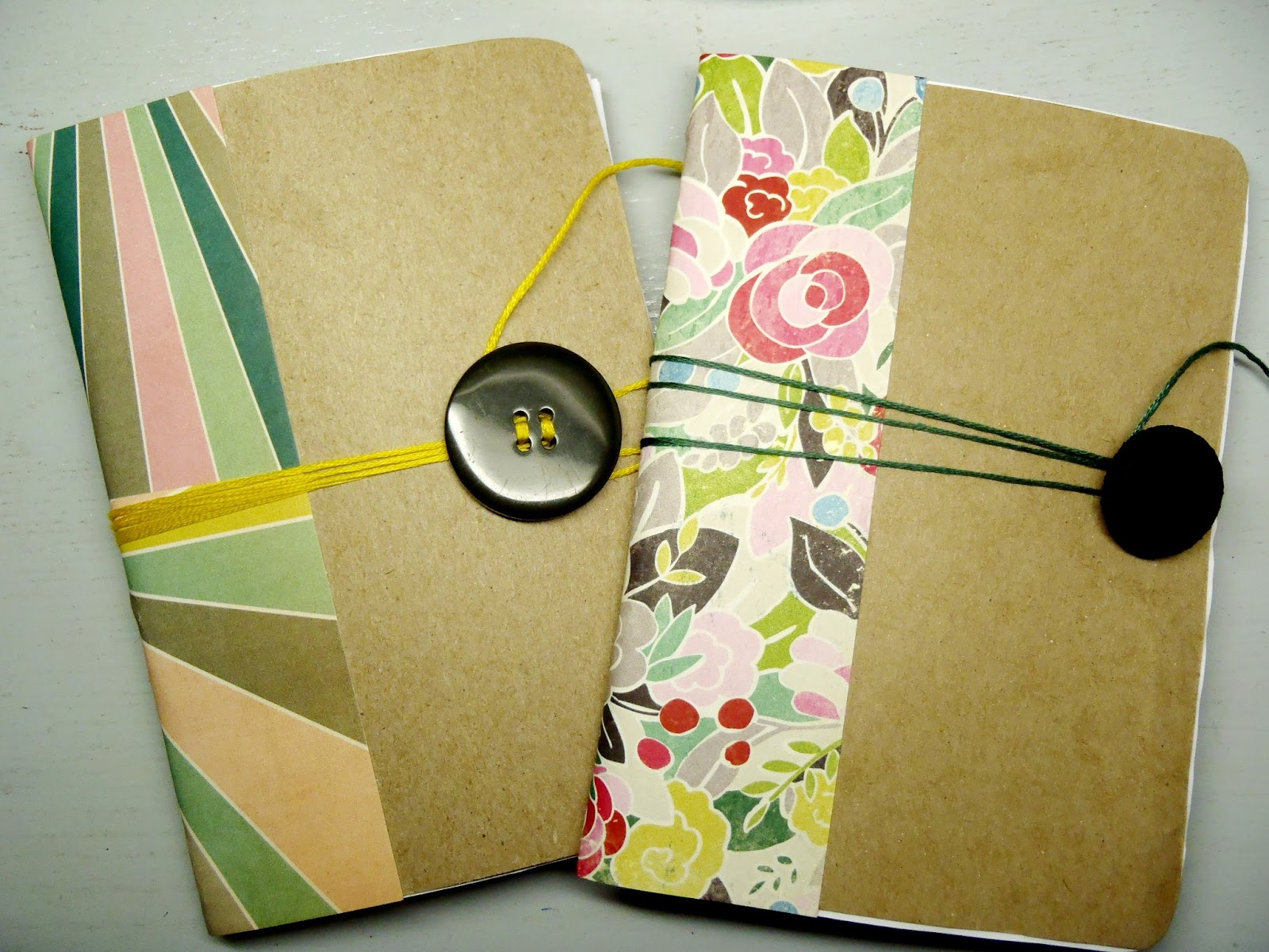 Turning it home upcycled cereal box notebooks for Diy cereal box