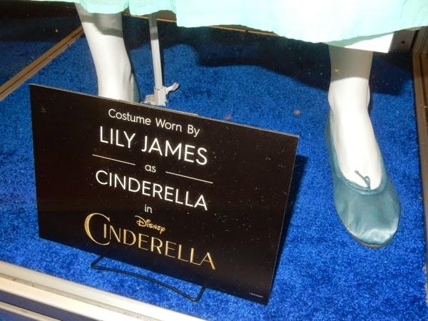 Cinderella film costume shoes