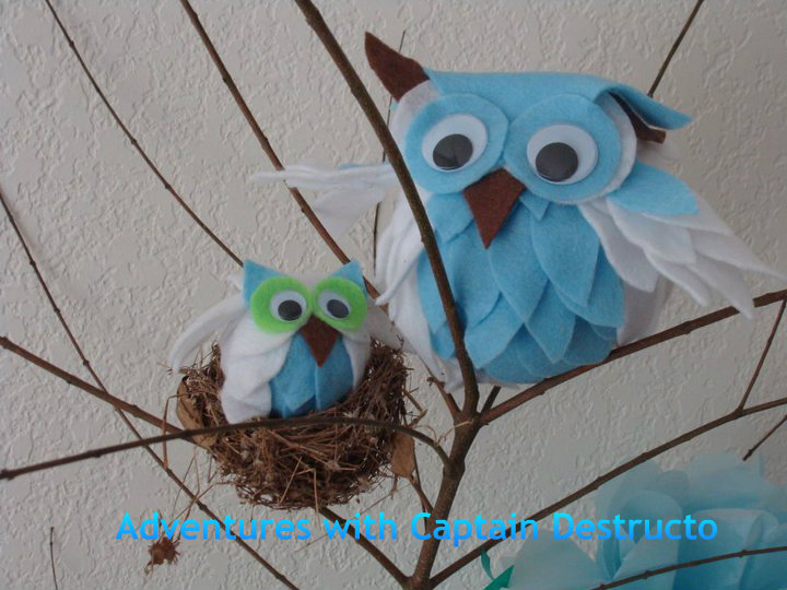 boy owl baby shower decorations and baby owl decoration