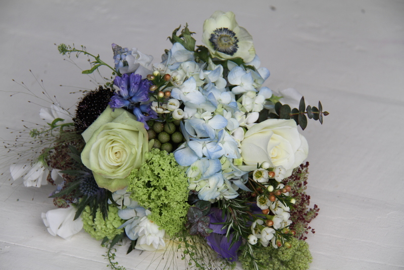 Gorgeous Wedding Bouquet in a hedgerow gathered style I included fragrant